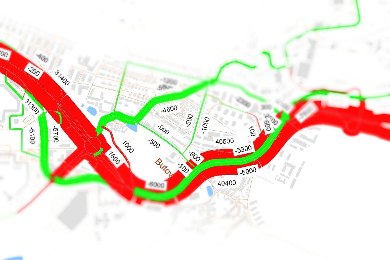 Dopravní intenzity